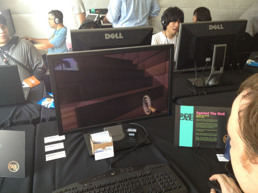Against the Wall at IndieCade