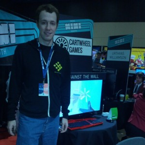 Michael Consoli with Against the Wall at PAX